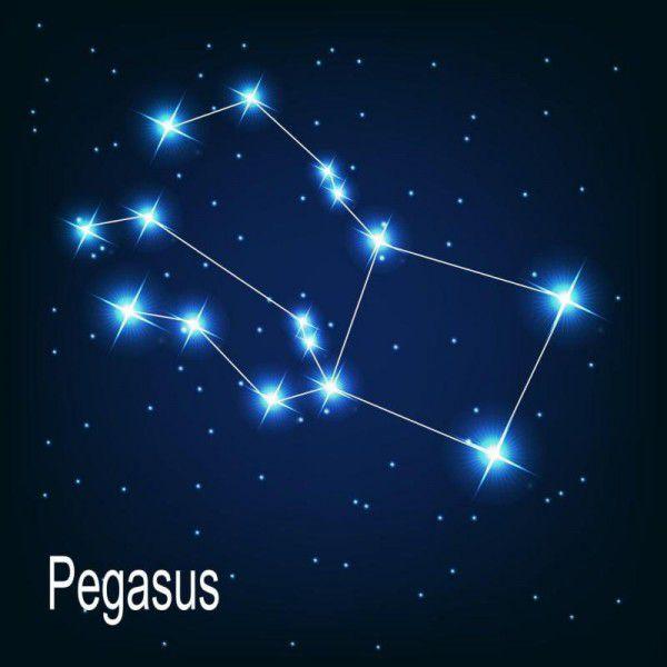 Das Sternenquadrat ist Leitsternbild des Herbstes.Shutterstock