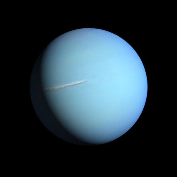 Uranus ist der drittgrößte Planet im Sonnensystem.Shutterstock