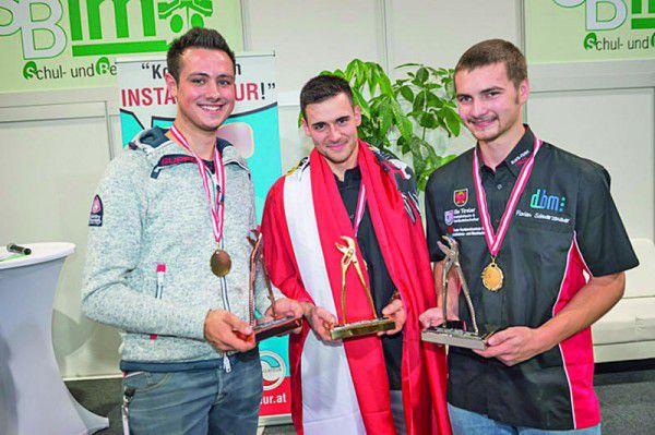 Dominik Lintschinger (l.) qualifiziert sich. WKO