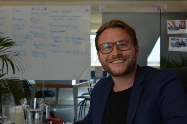 Manuel Hehle hat aus der Liebe zum Unternehmertum ein Unternehmen gegründet.Sara Bonetti (2