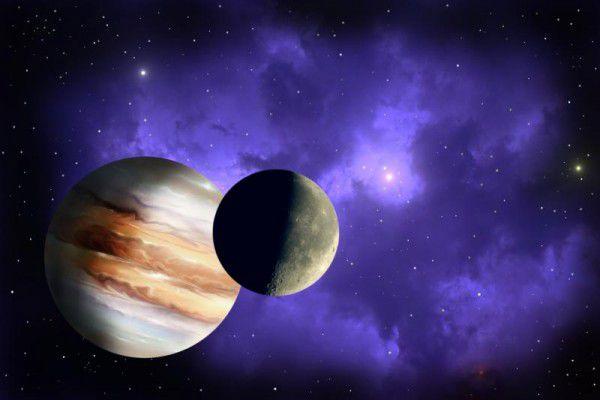 Jupiter wird Saturn im Sternbild Steinbock einholen.Shutterstock