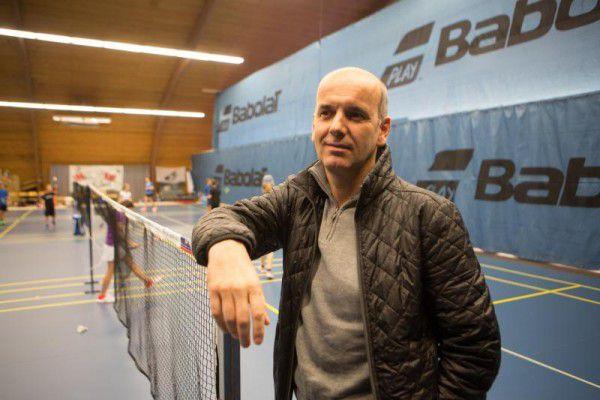 Norbert Schmid kennt die Wichtigkeit der Bregenzer Badmintonhalle. Und er freut sich über die Erfolge von David Obernosterer und Elisabeth Baldauf (oben) sowie des UBSC Wolfurt. Hartinger (2), Gepa