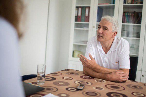Seit 2003 leitet Otto Gehmacher die Palliativstation am LKH Hohenems.Frederick Sams(3)