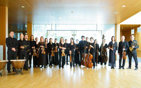 Die Musiker stehen bereit für tolle Konzerte. Concerto Stella Matutina