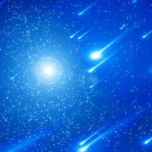 Sommerdreieck und Sternschnuppen