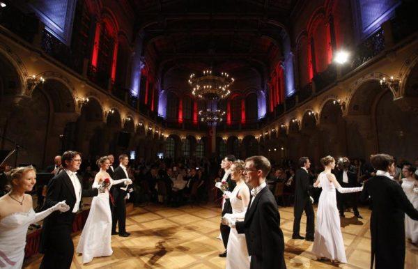 Im Palais Ferstel tanzen am 26. Jänner die Vorarlberger.Verein der Vorarlberger in Wien