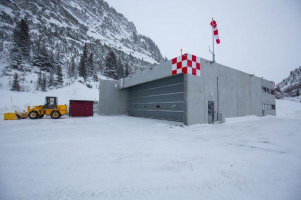 Alter Landeplatz zu modernem Heliport umgebaut. Klaus Hartinger