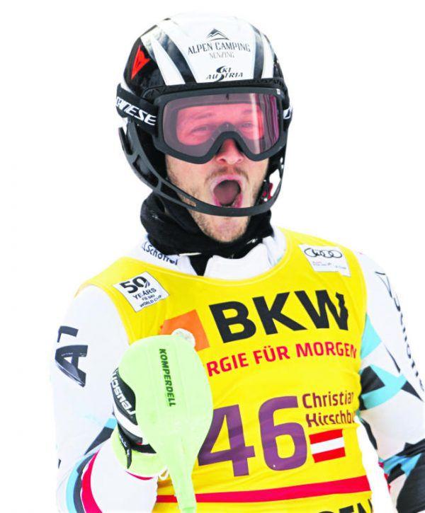 Auf technisch schwierigen Hängen ist Christian Hirschbühl besonders schnell. Gepa (2)
