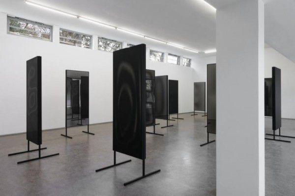 Blick in die Ausstellung (l.).Stefan Lux / Galerie Stadtpark Krems