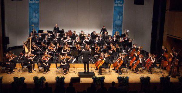 Das Jugendsinfonieorchester Mittleres Rheintal. tonart Musikschule
