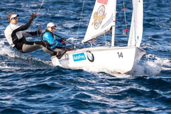 Das Segel-Duo hat den Blick nach vorne gerichtet und will 2020 zu den Olympischen Spielen.Thom Touw
