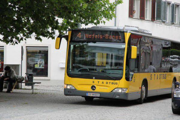 Der öffentliche Verkehr ist Thema. vol.at