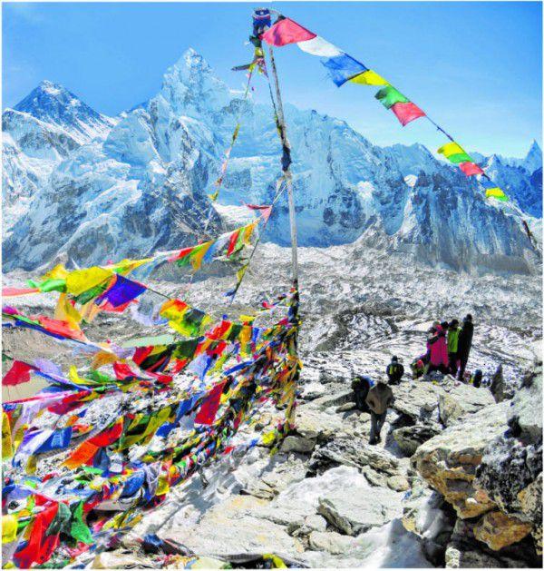Der Zugang zu den weltbesten Wanderrouten ist in Nepal für weniger als 45 Euro pro Tag zu haben. FOTOLIA