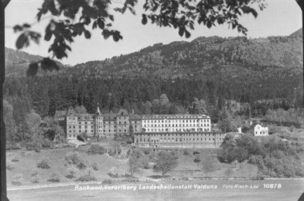 Die Landesheilanstalt in Rankweil 1954.Foto: Sammlung Risch-Lau, Vorarlberger Landesbibliothek