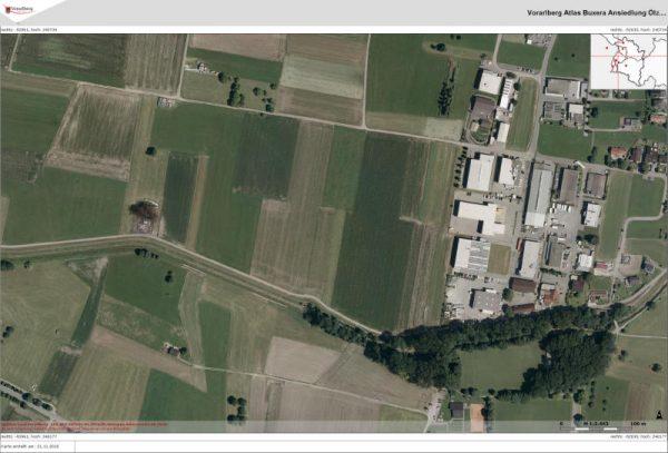 Drei Landwirte sind unter den Eigentümern jener Flächen in Weiler, die für die Betriebsansiedlung von Ölz Meisterbäcker aus der Landesgrünzone genommen werden könnten.land vorarlberg