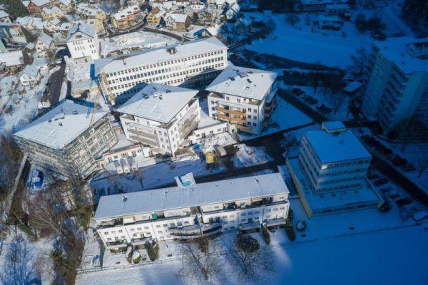 Im Ortsteil Wieden entstehen zu viele neue Wohnungen, befürchten Anrainer. Drohnenfoto/Hartinger