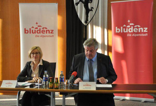 Katzenmayer und Fritz präsentierten das Arbeitsprogramm 2017. Stadt Bludenz