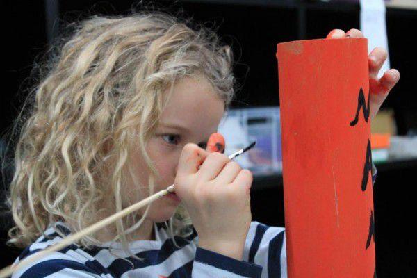 Kinder auf den Spuren eines großen Künstlers.Barbara Camenzind (3)
