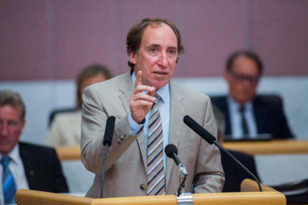 Möchte wieder Grünen-Landessprecher werden: Johannes Rauch. Philipp Steurer
