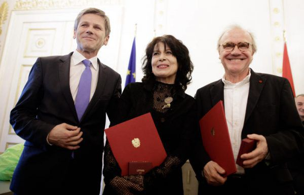 Monika Helfer und Michael Köhlmeier. APA/ HOCHMUTH