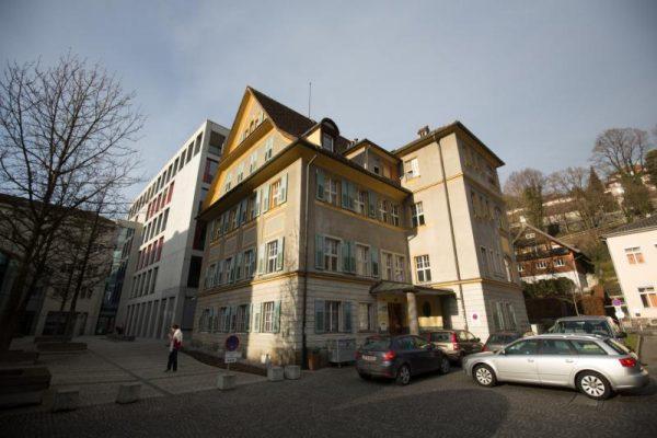 """Noch ist das Feldkircher Jugendhaus """"Graf Hugo"""" neben der Arbeiterkammer untergebracht. Spätestens Anfang 2019 wird der neue Standort bezogen. Hartinger"""