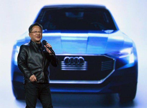 Nvidia-Chef Jen-Hsun Huang sprach über künstliche Intelligenz für Autos.