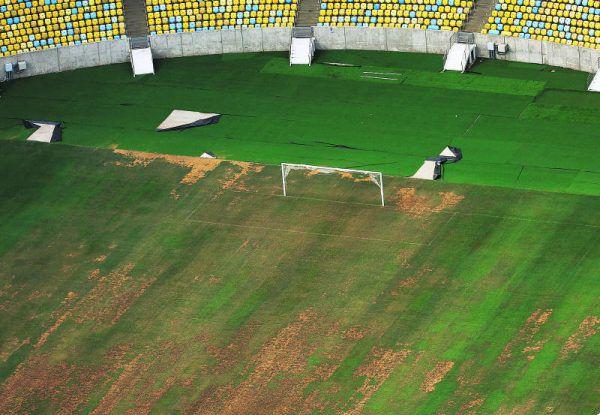 So heruntergekommen ist das Maracana-Stadion in Rio – es fehlen sogar Sitzschalen. Reuters (3)