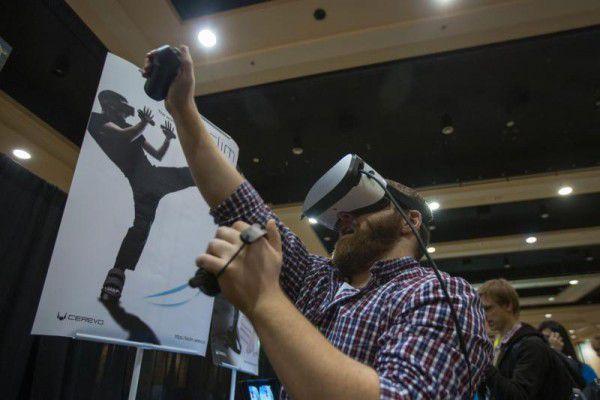 Virtuelle Realität ist ein Megatrend auf der diesjährigen CES. apa (2)