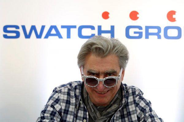 Swatch-Chef Nick Hayek hat große Pläne. Reuters
