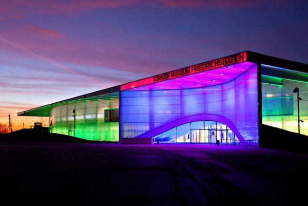 Über 110.000 Besucher waren 2016 im Dornier Museum. Dornier Museum Friedrichshafen
