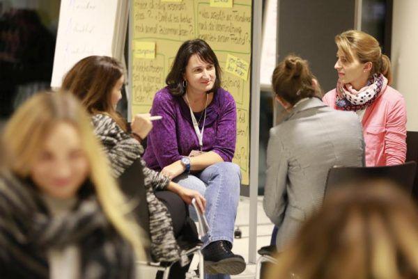 Wie der Traumkongress aussehen soll, erarbeiteten die Teilnehmer in Kleingruppen.