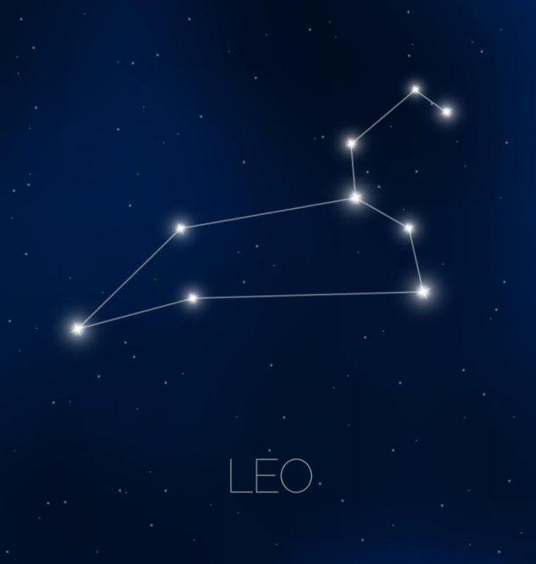 Das Sternentrapez des Löwen ist leicht zu erkennen. Shutterstock