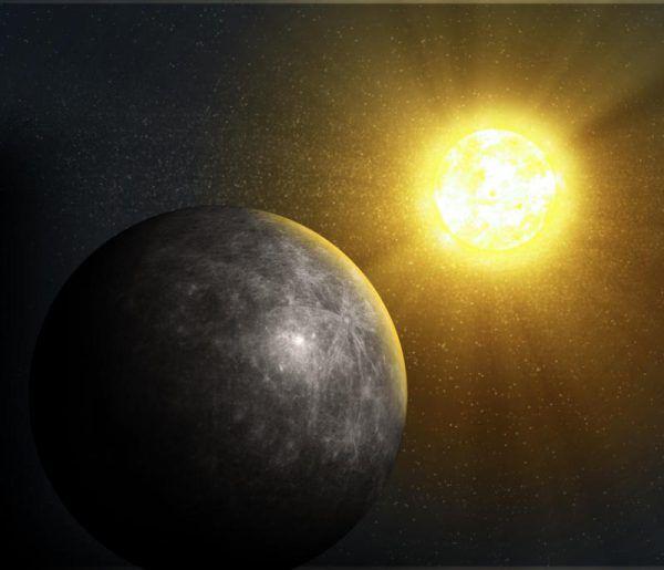 Der kleine sonnennahe Planet ist selten zu beobachten.Shutterstock