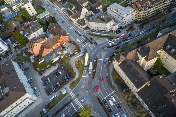 Der Feldkircher Stadttunnel soll für Entlastung an der Bärenkreuzung sorgen.