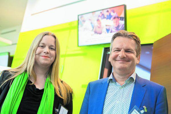 Die Soziologin Claudia Globisch und der Arbeitsmarktforscher Kurt Schmid waren die Referenten beim gestrigen Expertenhearing.klaus hartinger