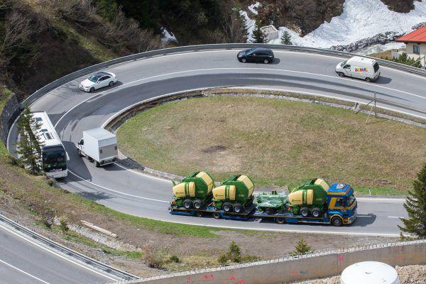 Bereits 2015 und 2017 war der Arlbergtunnel monatelang gesperrt. Auch damals wurde der Verkehr über den Pass umgeleitet. Philipp Steurer