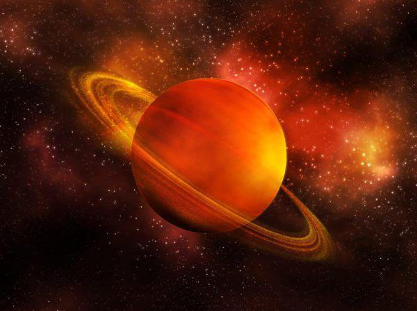 Saturn wird zum Planeten der ersten Nachthälfte. Shutterstock