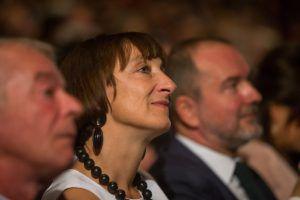 Eröffnungsfeier mit Torero und Präsident