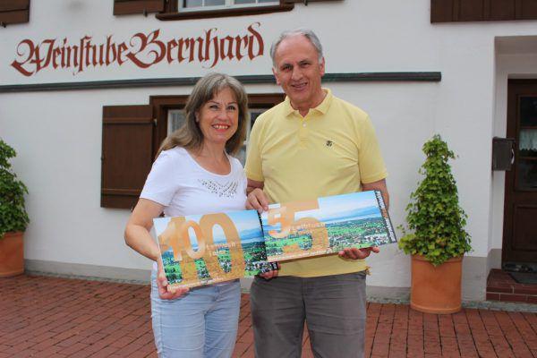 """Auch im Gästehaus Bernhard sind die """"Leiblach-Taler"""" ein gültiges Zahlungsmittel. BMS"""