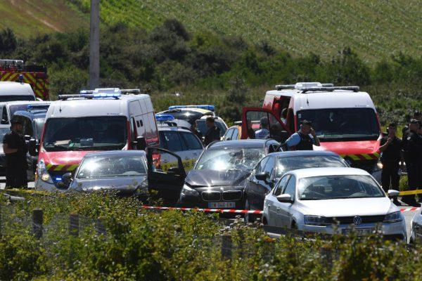 Auf der Autobahn wurde der Verdächtige gestoppt.AFP