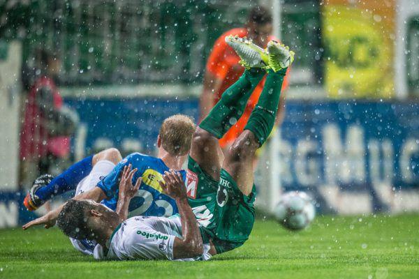 Austria Lustenau strauchelte in der laufenden Saison zu häufig.Frederick Sams