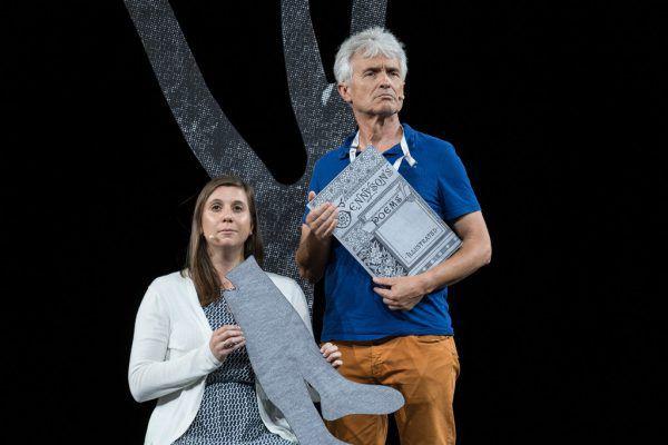 Bild oben: Erste Einblicke beim Probenbesuch. Bild unten: Regisseur Olivier Tambosi übernahm die Inszenierung im Jänner.
