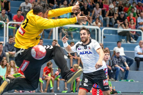 Boris Zivkovic war mit sieben Treffern bester Werfer des Spiels.GEPA/Lerch