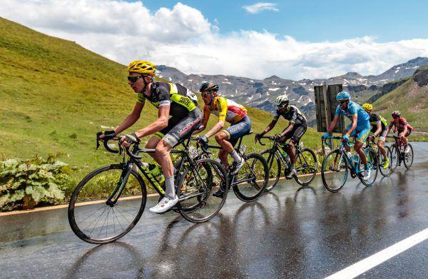 Patrick Schelling (l.) und Daniel Geismayr sollen bei den Bergetappen für Spitzenresultate sorgen.Gepa (2)
