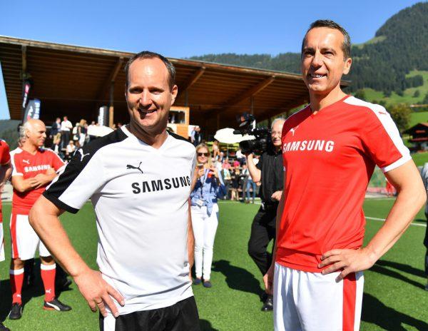Das Vorarlberger Abwehrbollwerk ist nur schwer zu überwinden, meint Christian Kern nach dem Match gegen Matthias Strolz.