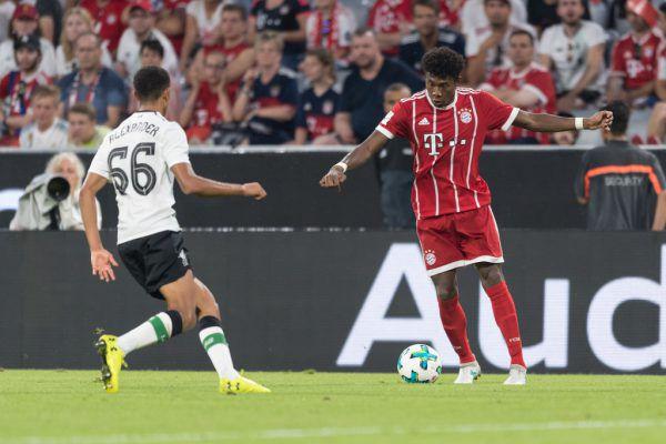 David Alaba trifft heute mit Bayern auf Leverkusen. Gepa