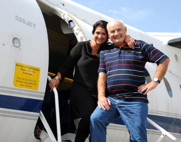 Diana Müll war 1977 Passagierin der Landshut und Jürgen Vietor der Co-Pilot. Thomas Kapitel