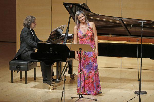 Die in Griechenland lebende Marlis Petersen sang in Schwarzenberg.Schubertiade