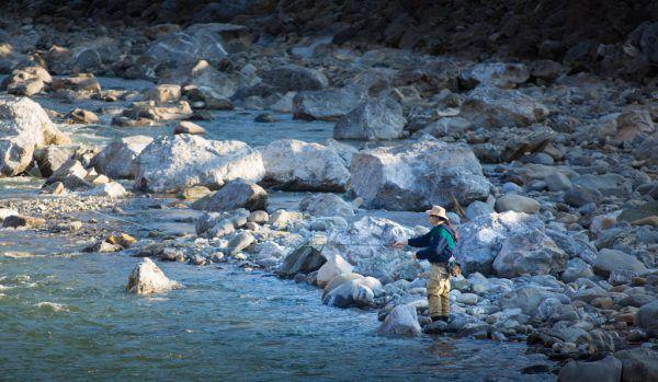 Die Interessen von 6500 Angelfischern vertritt der Fischereiverband.Symbolbild/Archiv