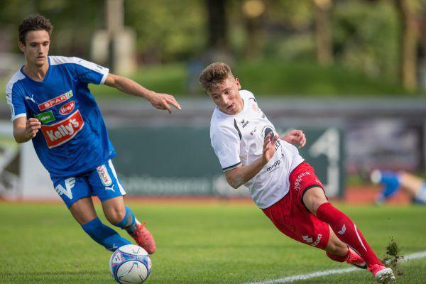 Die Rothosen wankten gegen den FC Kufstein und fielen schließlich auch. Eine 1:4-Heimniederlage gegen die Tiroler schmerzt die Dornbirner.Frederick Sams